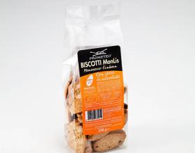Biscotti Monlis con goccie di cioccolato